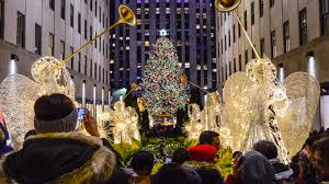 Ge 75 Ft Christmas Trees by Nyc Holiday Lights Walking Tour New York Tickets 13 61 At