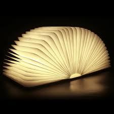 New Lumio Style LED Folding Book Lamp White Light Hot 2017 fice