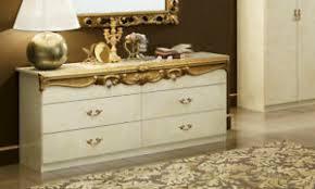 details zu klassische kommode schlafzimmer beige gold hochglanz stil barock italienisch