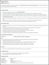 Office Assistant Resume Resumes For Assistants Templates Duties Responsibilities