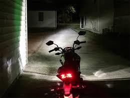 motorcycle led headlight conversion kit h4 led fanless headlight