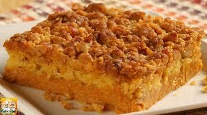 Libbys Pumpkin Pie Mix Bars by Libby U0027s Easy Pumpkin Crumb Cake Youtube