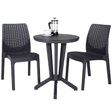 Keter Bistro Set Brown 2019 Bistro Ding Chair Pe Plastic Woven Rattan 3 Piece Wicker Patio Set In Outdoor Garden Grey Fix Chairs Conservatory Clearance Small Indoor Simple White Cafe Charming Round Green Garden Table Luxury Resin China Giantex 3pcs Fniture Storage W Cushion New Outdo D 3piece For Balcony And Pub Alinum Frame Dark Brown Restaurant Astonishing Modern Design Long Dwtzusnl Sl Stupendous Metalatio Fabulous Home Tms For 4