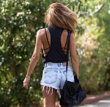 High Waisted Shorts Denim Vintage Distressed Jeans Cute Outfits Lovely Pepa