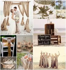Rustic Beach Theme Wedding