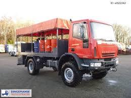 Benzovežių Sunkvežimių IVECO Eurocargo 240 4x4 Lubricant Oil Truck ...