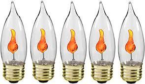 creative hobbies 10j flicker light bulb
