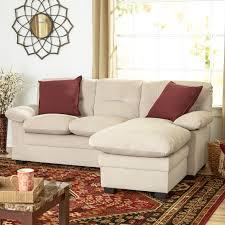 Wayfair Modern Sectional Sofa by Small Sectional Sofa 12 Nice Small Sleeper Sofas With Sleeper