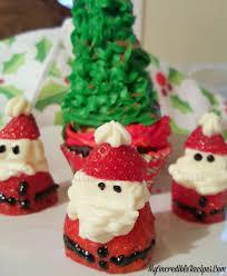 Christmas Tree Preservative Recipe Sugar by Strawberry Cheesecake Santas For Christmas