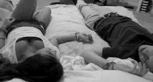 bed boy couple friends gif find make share gfycat gifs
