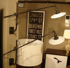 wall l pair of vintage oc white industrial wall mount swing