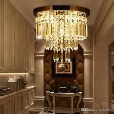 großhandel italienische kristalldeckenleuchter wohnzimmer schlafzimmer hochzeit decke flur kronleuchter runde form glanz design deckenleuchte
