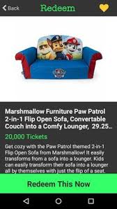 Marshmallow Flip Open Sofa Paw Patrol by Pin By Shelby Marie On Verydice Pinterest