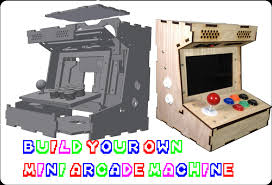 Bartop Arcade Cabinet Plans by Diy Mini Arcade Cabinet Porta Pi 9inch Assembly Guide Update