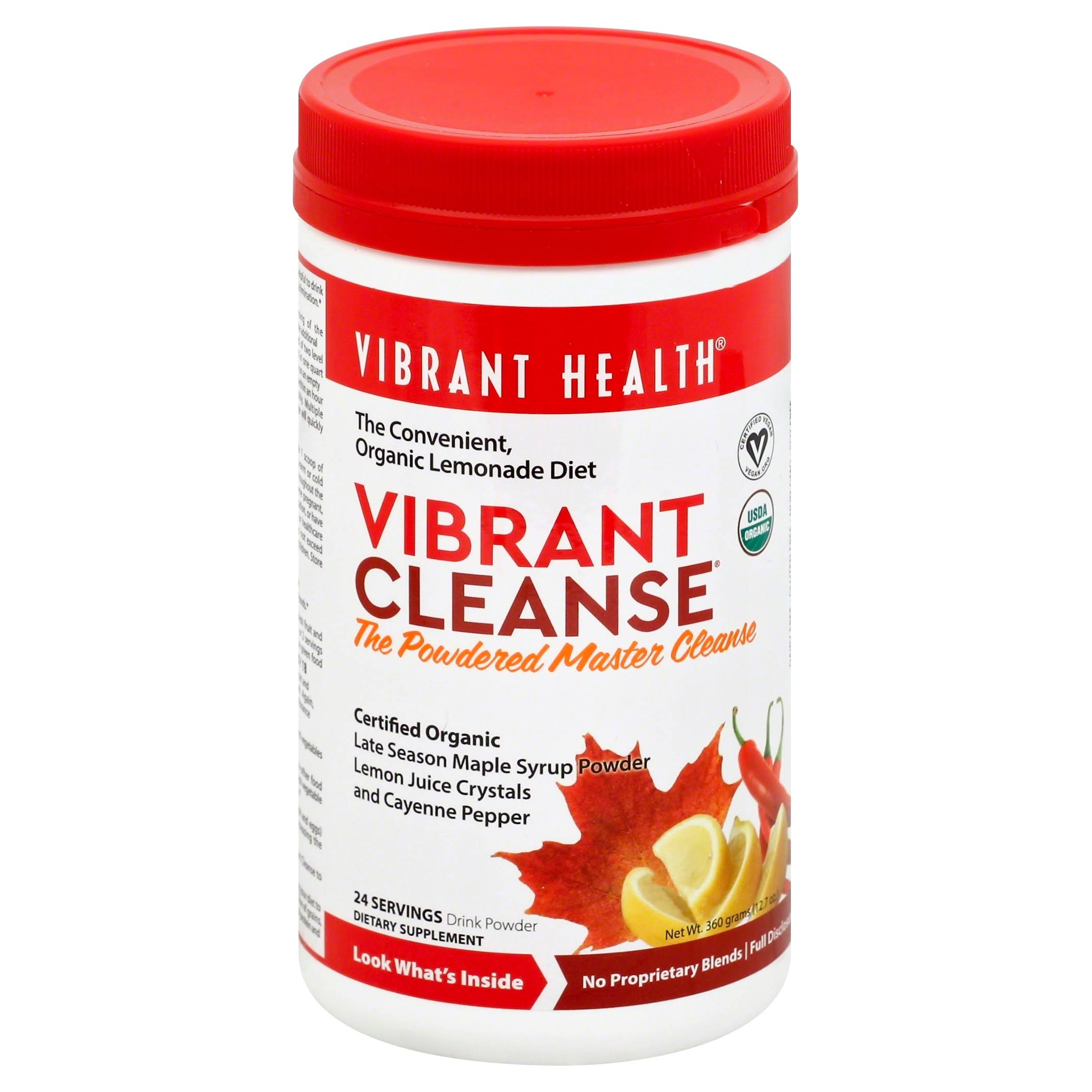 Vibrant Health Vibrant Cleanse Powder - 12.7oz