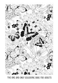Gorgeous Free Butterfly Colouring Pages For Adults