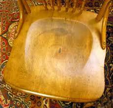 King Edward V11 Chair by Victorain Edwardian Canadian Pressback Chairs