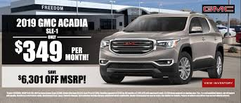 100 Acadia Truck Freedom Buick GMC In Odessa TX Serving Midland Andrews And