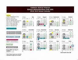 100 Sau 4 LES School Calendar SAU 8 Littleton School District
