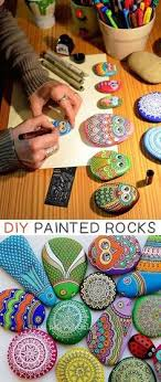 50 Of The Best Creative DIY Ideas For Pebble Art Crafts