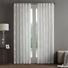 Bed Bath And Beyond Curtain Rod Finials by Regency Heights Aria Stamp Sheer Rod Pocket Window Curtain Panel