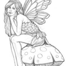 1000 Ideas About Fairy Coloring Pages On Pinterest