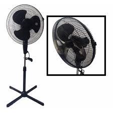 boostwaves lavohome quiet 16 in black standing floor fan 3 speed