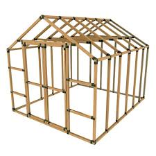 10x12 e z frame basic storage shed kit projects to try pinterest