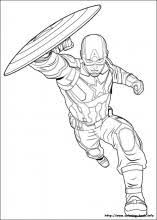 Captain America Civil War Coloring Pages On Book