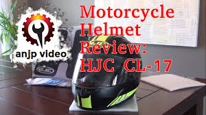 Hjc Cl 17 Chin Curtain Canada by Gear Review Hjc Cl 17 Motorcycle Helmet Youtube