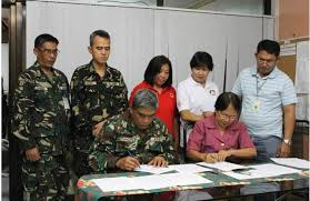 moa siege social dswd afp engineering brigade ink moa for construction of bunkhouses