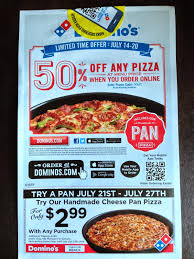 Domino Pizza 50 Off Coupon Code : Best 19 Tv Deals How To Use Dominos Coupon Codes Discount Vouchers For Pizzas In Code Fba05 1 Regular Pizza What Is The Coupon Rate On A Treasury Bond Android 3 Tablet Deals 599 Off August 2019 Offering 50 Off At Locations Across Canada This Week Large Pizza Code Coupons Wheel Alignment Swiggy Offers Flat Free Delivery Sliders Rushmore Casino Codes No Deposit Nambour Customer Qld Appreciation Week 11 Dec 17 Top Websites Follow India Digital Dimeions Domino Ozbargain Dominos Axert Copay