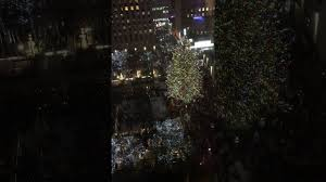 Rockefeller Plaza Christmas Tree Lighting 2017 by Rockefeller Center Christmas Tree Lighting 2016 Youtube