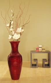 Br LiAccent Your Home Decor With This Bamboo Floor Vase And