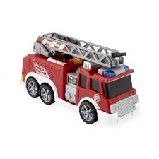 Fast Lane Lights And Sounds 6 Inch Vehicle - Fire Truck - Toys