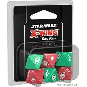 Fantasy Flight Games Star Wars X-Wing 2nd Edition Dice Pack