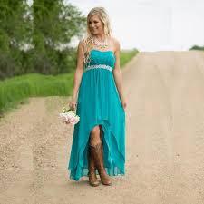 Turquoise Bridesmaid DressHigh Low Dresses Plus Size