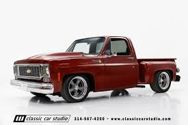 1976 Chevrolet C10 | Classic Car Studio Truck Parts And Accsories Amazoncom 82 Chevy 19472008 Gmc Nicely Preserved Optioned 1976 Chevrolet K20 Scottsdale Bring A Lifted Corvette With A Pickup Bed Is The Best Part Guy Heater Ac Controls Flashback F10039s New Arrivals Of Whole Trucksparts Trucks Or Dans Garage C10 Long 462 Big Block Start Up Dash View About To Buy Stepside Forum Silverado Connors Motorcar Company Find Used C30 1 Ton 3500 Crew Cab Dually