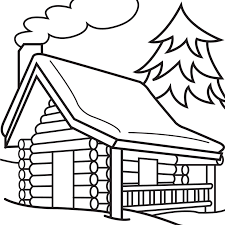 Log Coloring Page