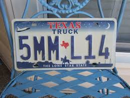 100 Truck License Texas TRUCK Plate Texas Plate Wall Plate