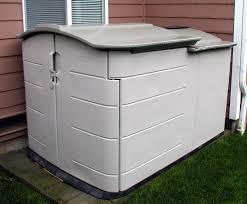 modern outdoor design with rubbermaid slide lid storage shed