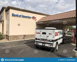 100 Bank Truck Garda Armored Parked At A Editorial Image Image Of