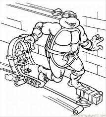 Turtles Coloring Pages 3 Lrg Page