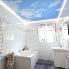 wolkendecke im badezimmer plameco fotomotive an der decke