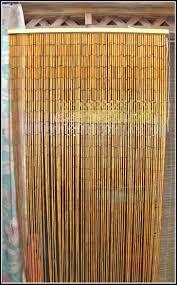 Natural Bamboo Beaded Door Curtain by Bamboo Beaded Door Curtain Australia Curtain Menzilperde Net
