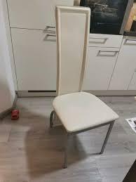 6 esszimmer stühle poco in creme