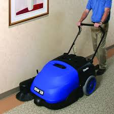 Clarke Floor Scrubber Batteries by Clarke Bsw 28 Sweeper Multi Purpose Walk Behind Floor Sweeper