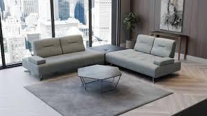 casa padrino luxus sofa mit verstellbaren rückenlehnen grau verschiedene größen modernes wohnzimmer sofa luxus möbel