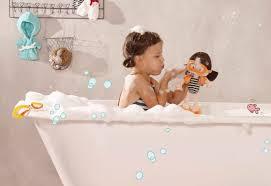 Amazoncom Lil Cutsies Twin Dolls In Bath 85u201d All Vinyl Water
