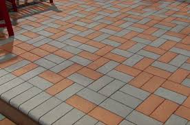 the in pvc decking plus a lightweight paver for resurfacing